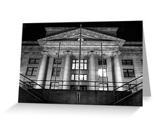 CourtHouse Symmetry Greeting Card