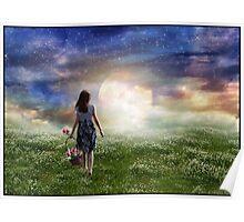 Where The Heavens Meet The Earth Poster
