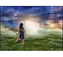 Where The Heavens Meet The Earth Photographic Print