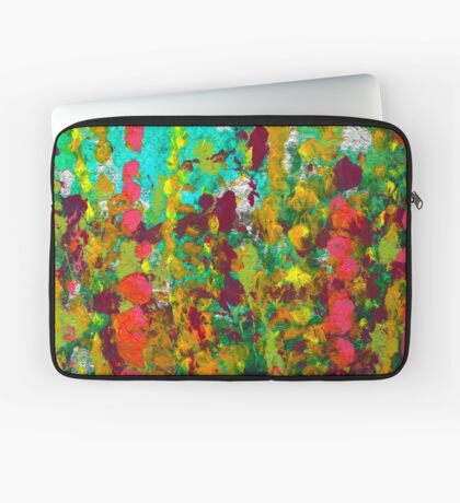 Green Garden Laptop Sleeve