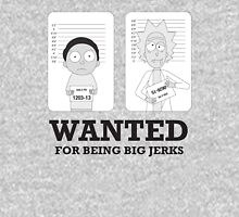 Wanted for Being Jerks Unisex T-Shirt
