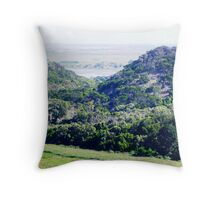Tower Hill inactive Volcano 1. Throw Pillow