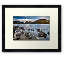 Breaking Through - Cradle Mountain, Tasmania Framed Print