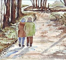 A Winter Walk in the Park by Maree  Clarkson