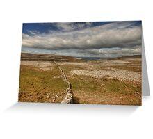 Burren View 1 Greeting Card