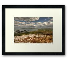 Ballyvaughan View Framed Print