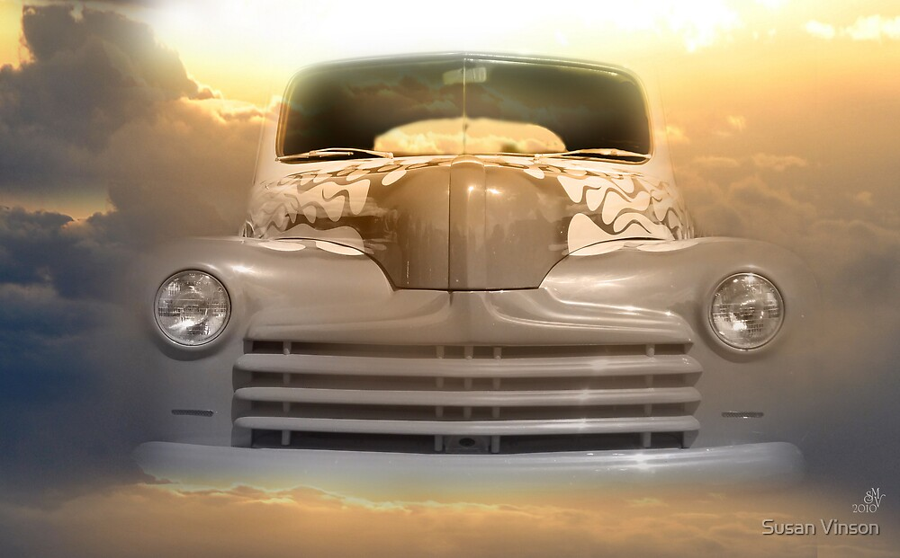1946 Ford 2-Door Sedan  by Susan Vinson
