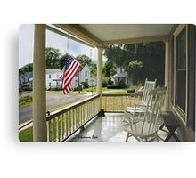 Small Town USA ~ Fourth of July Metal Print