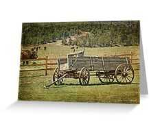 The Road to Escalante Greeting Card