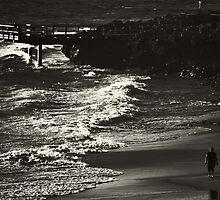 Walking Away.... by Trish Woodford