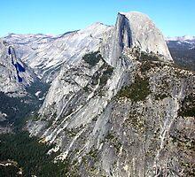 Half Dome from Glacier Point, Yosemite 1 by Cupertino