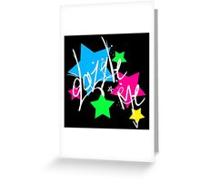 Dazzle Me Greeting Card
