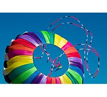 Dancing Kites Photographic Print