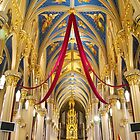 Church At Notre Dame by Judy Seltenright
