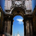 Ornate Archway in Lisboa by SLRphotography