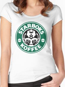 Starboks Koffee 2.0 Women's Fitted Scoop T-Shirt