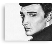 Elvis classic Canvas Print