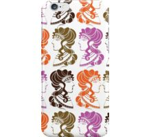 Minoan Ladies/White iPhone Case/Skin