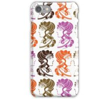 Minoan Ladies/White iPhone Case/Skin