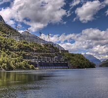 Manapouri Power Station, West Arm by Antony Burton