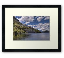 Manapouri Power Station, West Arm Framed Print
