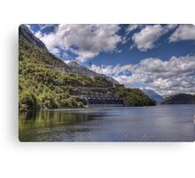 Manapouri Power Station, West Arm Canvas Print