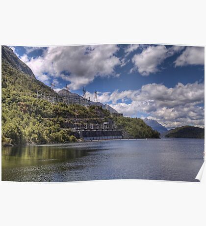Manapouri Power Station, West Arm Poster