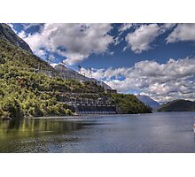 Manapouri Power Station, West Arm Photographic Print