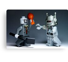 Zombies Vs Robots Canvas Print