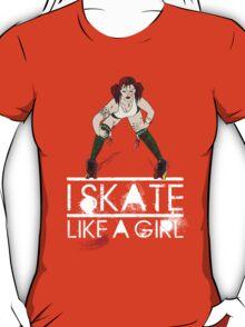 Atomic Blast - Skate like a Girl T-Shirt