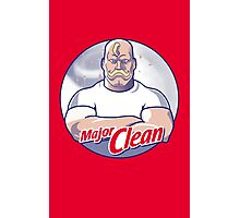 Major Clean Photographic Print