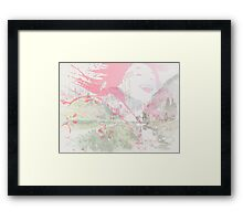 Little Bamboo Framed Print