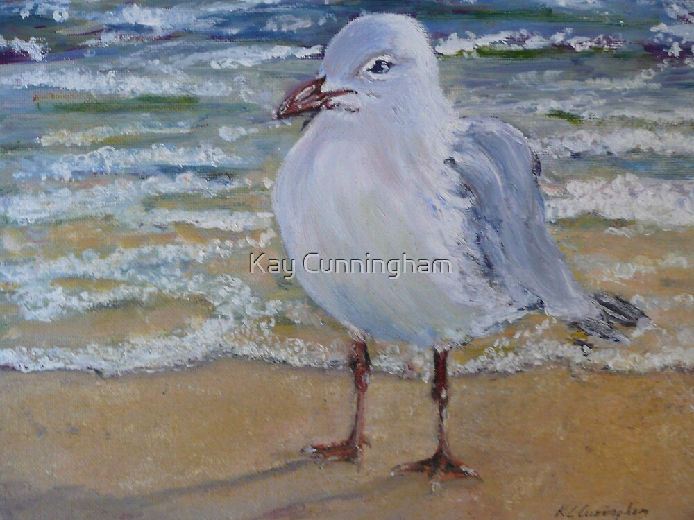 Seagull in Oil by Kay Cunningham