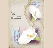be still... Womens Fitted T-Shirt