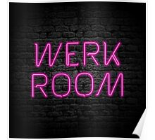 Neon Shop : Werk Room Poster