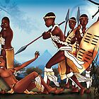 African warrior battle by Caine Swanson