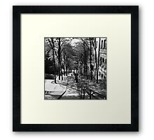 Paris, je t'aime Framed Print