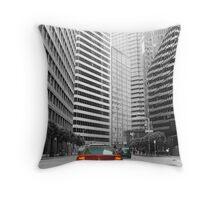 Streets of San Francisco Throw Pillow