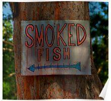 Smoked Fish Poster