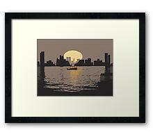 Listen To The Sunset Framed Print