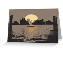 Listen To The Sunset Greeting Card