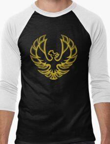 '99 Johto Firebird Men's Baseball ¾ T-Shirt