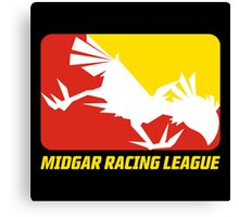 Midgar Racing League Canvas Print