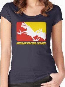 Midgar Racing League Women's Fitted Scoop T-Shirt