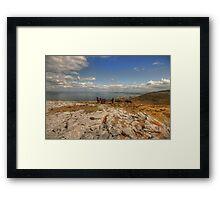 Burren Donkeys Framed Print