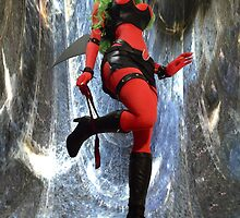 Crystal Curtains Scanty: 8x10  by shocktress
