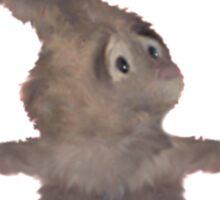 Dust Bunny Fuzz Sticker