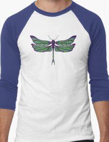 Dragonfly - Dark Colours Men's Baseball ¾ T-Shirt