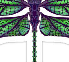 Dragonfly - Dark Colours Sticker