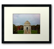 McKinley Monument in Canton, OH Framed Print